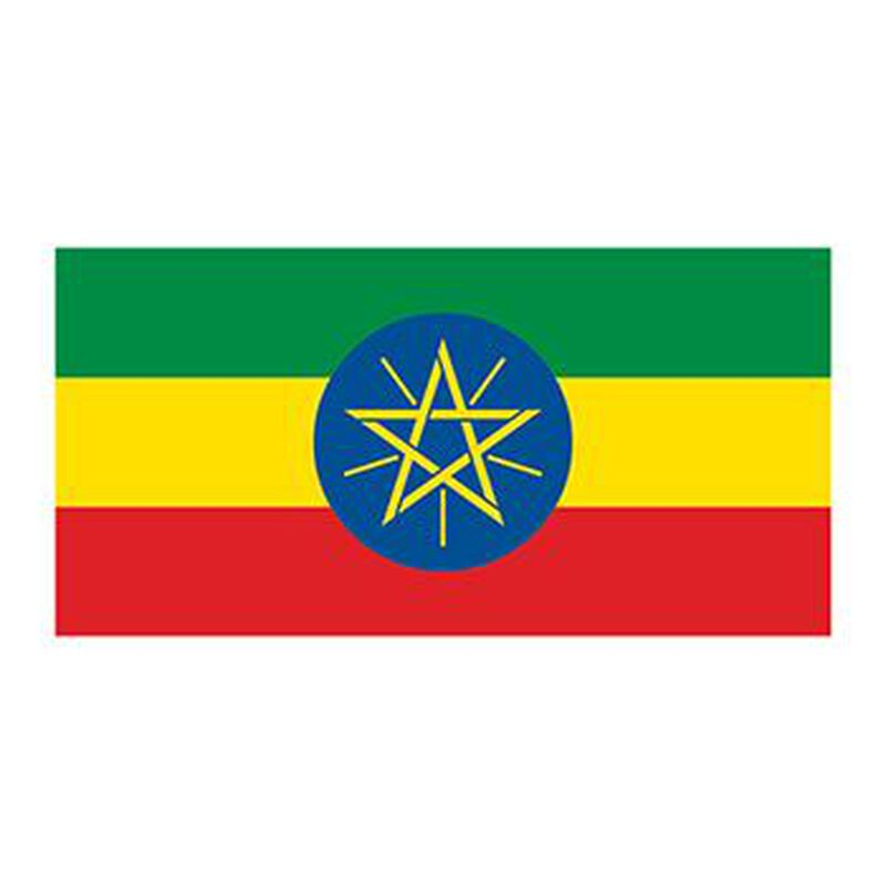 Flag of Ethiopia Temporary Tattoo image number null