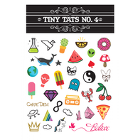 Tiny Tats No. 4 Temporary Tattoos
