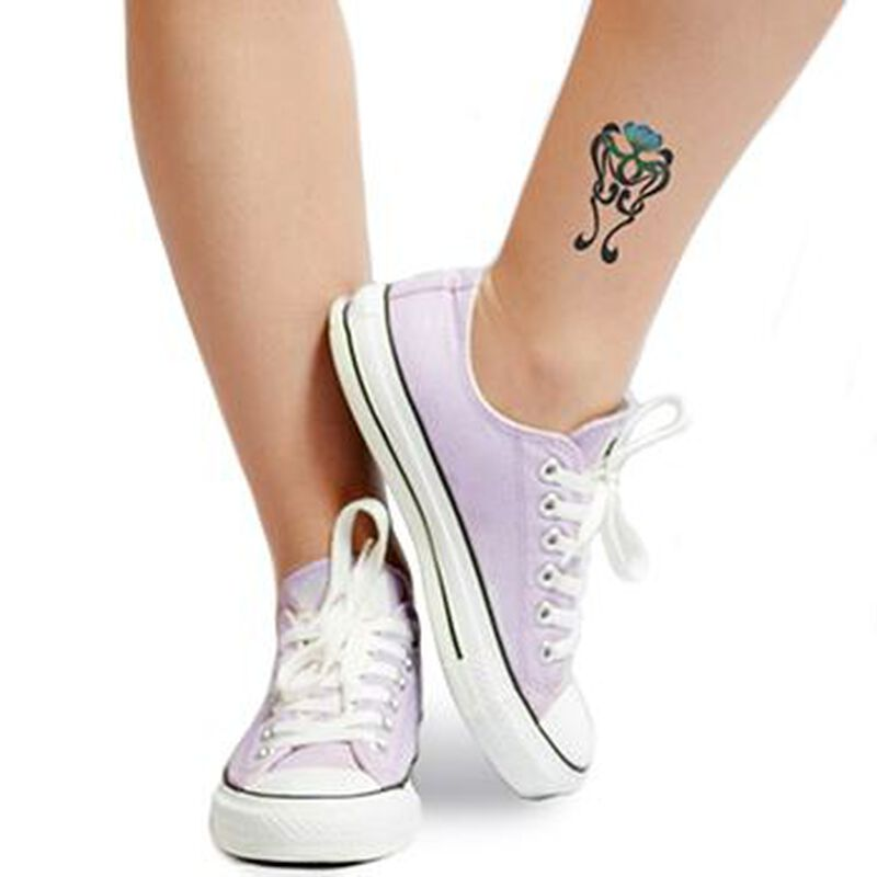 Floating Lily Temporary Tattoo image number null