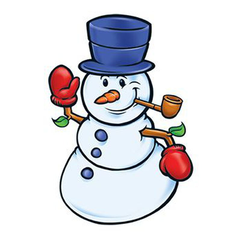 Happy Snowman Temporary Tattoo image number null