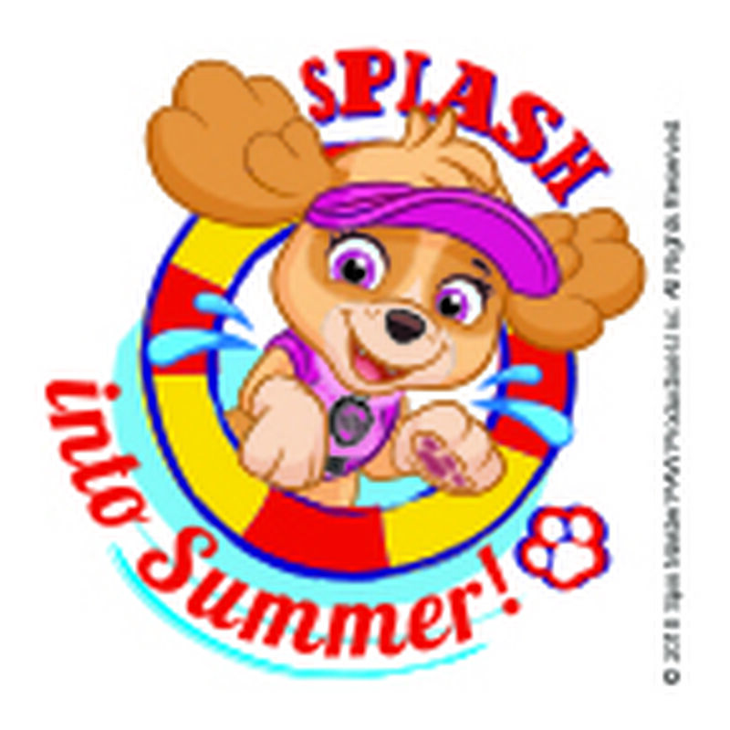PAW Patrol Skye Splash Temporary Tattoo image number null