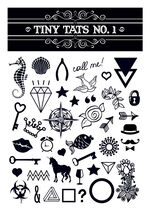 Tiny Tats No. 1 Temporary Tattoos