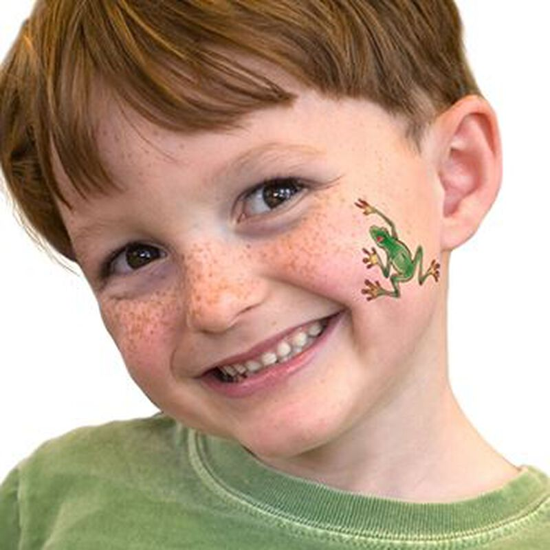 Tree Frog Temporary Tattoo image number null