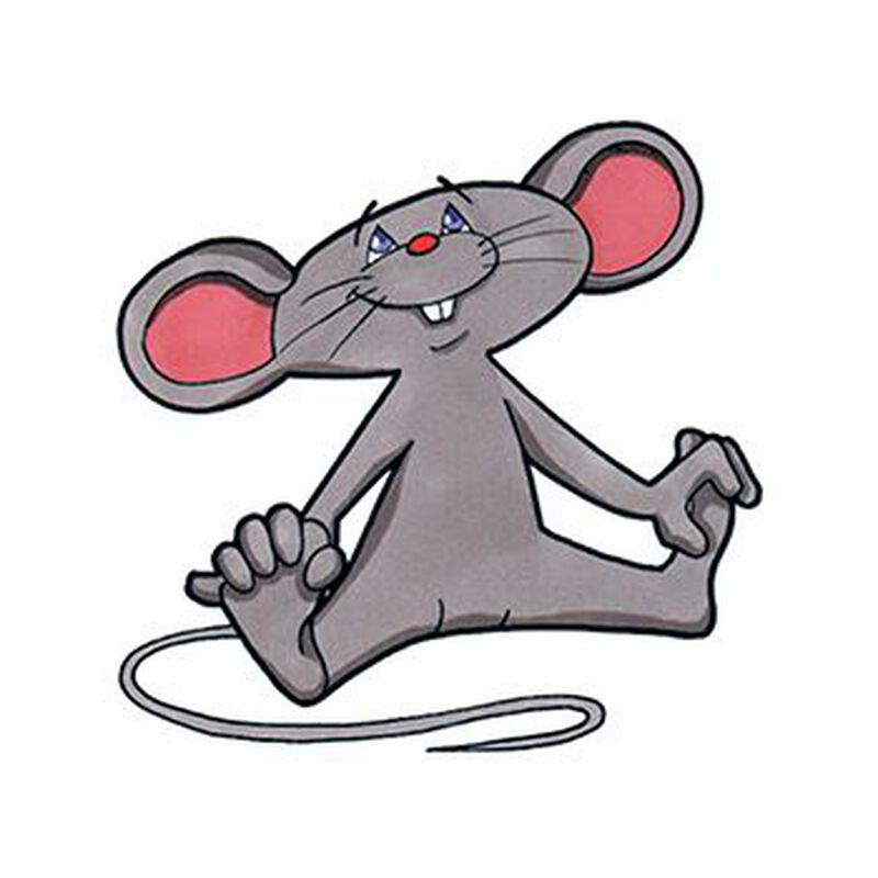 Mouse Temporary Tattoo image number null