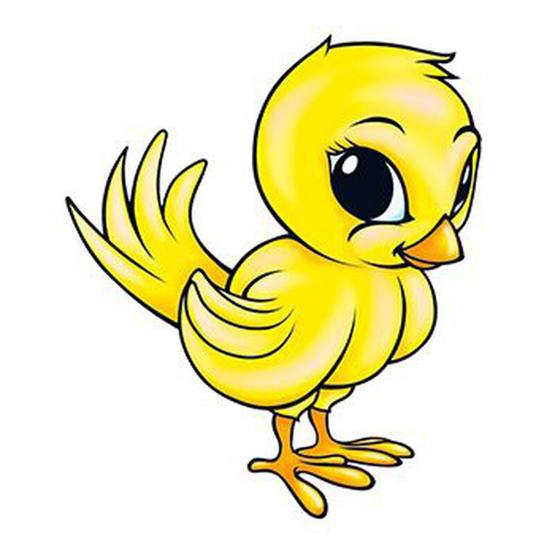 Chick Temporary Tattoo image number null