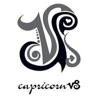 Zodiac: Capricorn Design Temporary Tattoo