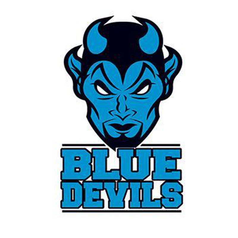 Blue Devils Temporary Tattoo image number null