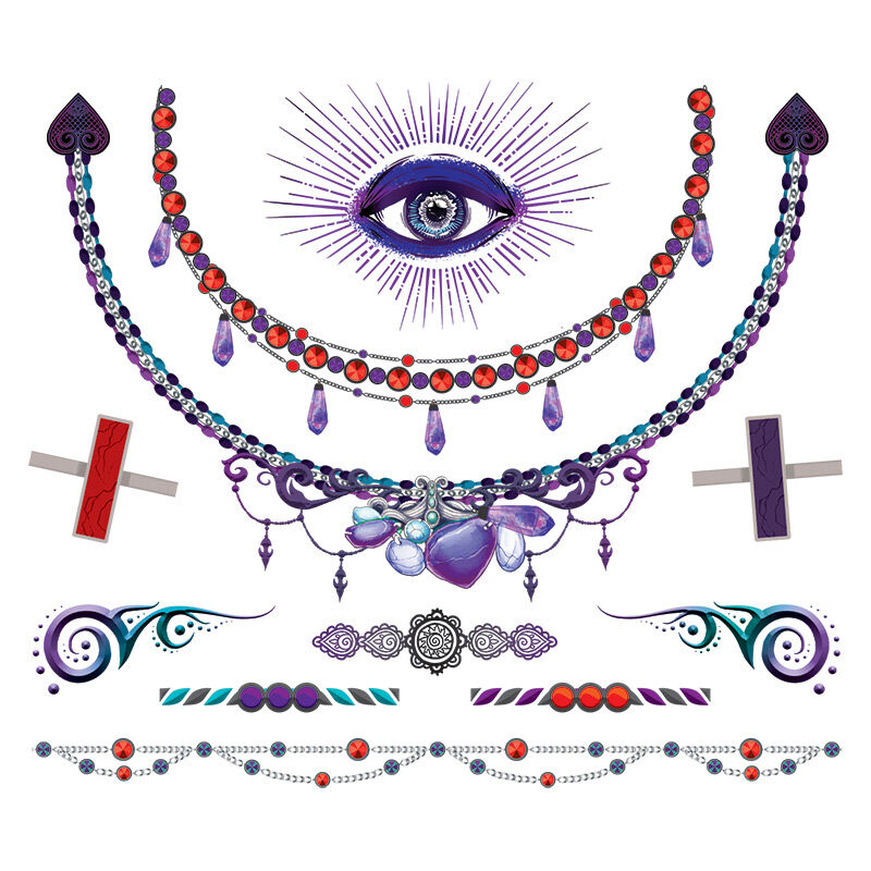 Mystical Fortune Teller Jewelry Costume Tattoo image number null