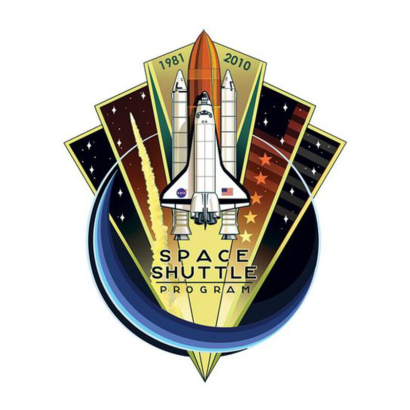 NASA Space Shuttle Temporary Tattoo image number null