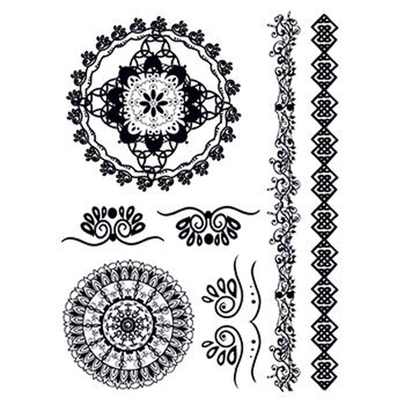 Henna: Mysterious Temporary Tattoo Set image number null