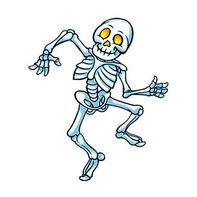 Dancing Skeleton Temporary Tattoo