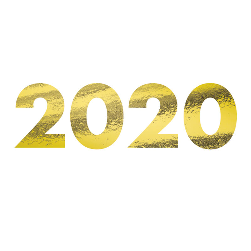 2020 Metallic Gold Temporary Tattoo image number null