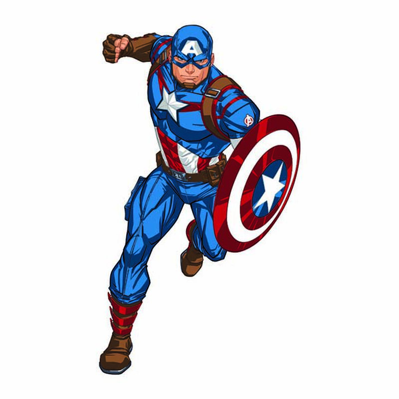 Avengers Captain America Temporary Tattoo image number null