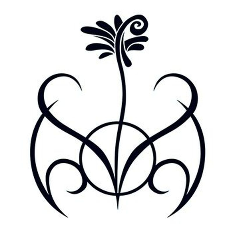 Tribal Flower Temporary Tattoo image number null