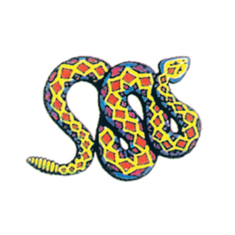 Rattlesnake Temporary Tattoo image number null