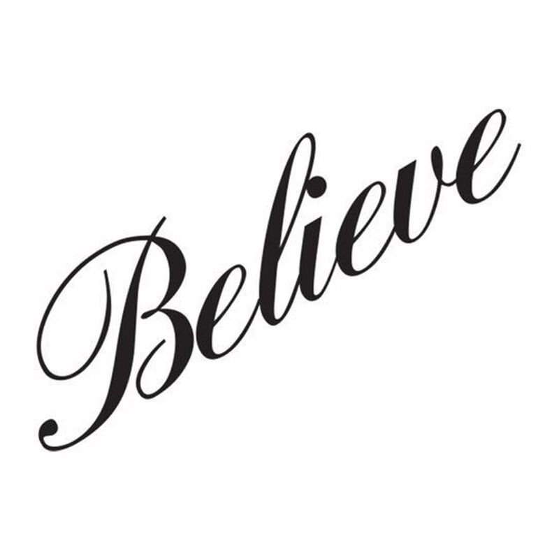 Believe Temporary Tattoo image number null