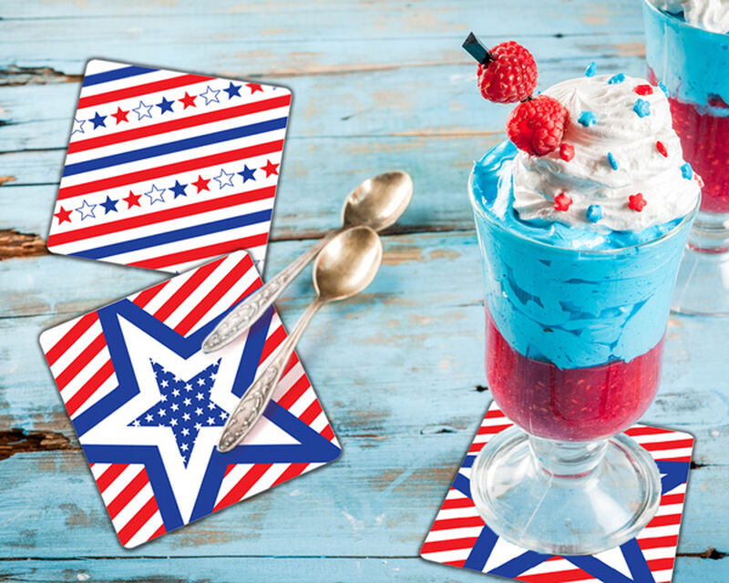 Patriotic Coaster Gift Box image number null