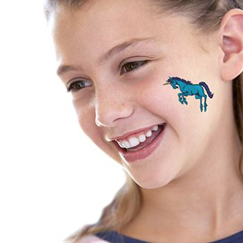 Unicorn Temporary Tattoo image number null