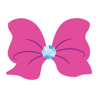 JoJo Siwa JoJo Bow Temporary Tattoo