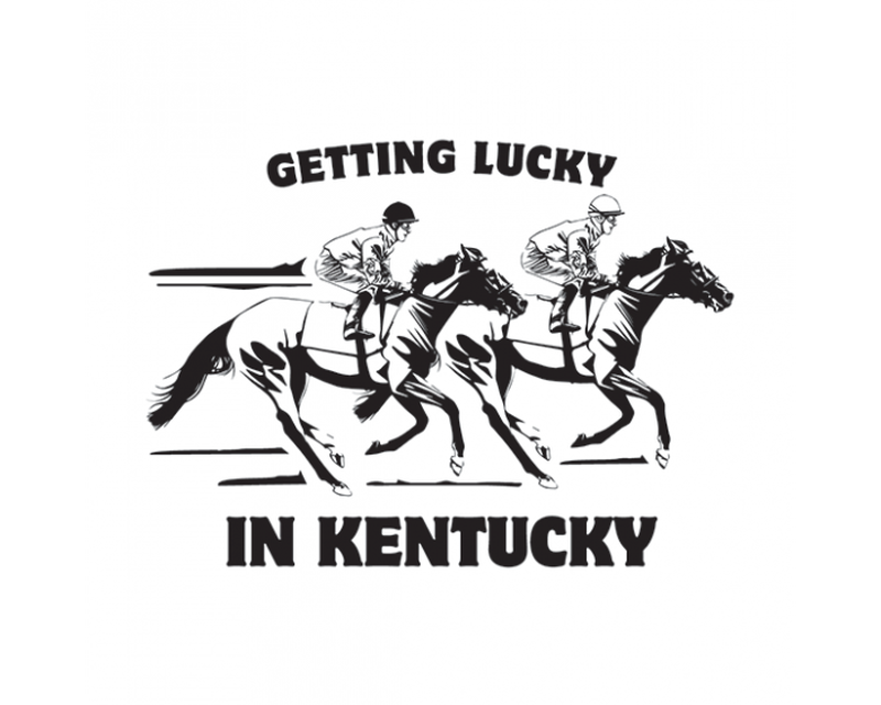 Getting Lucky Kentucky Derby Temporary Tattoo image number null