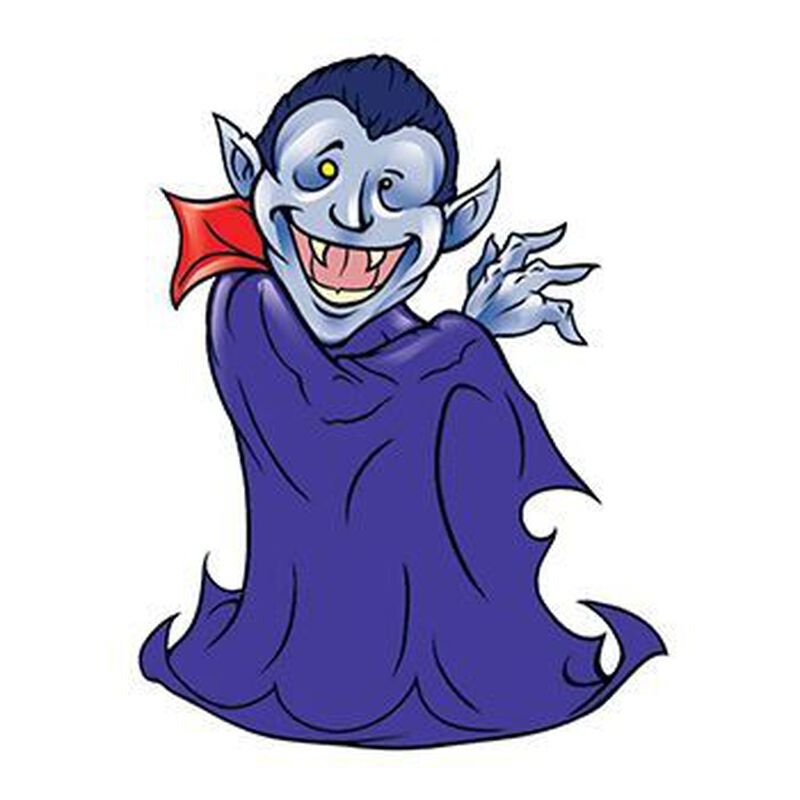 Dracula Temporary Tattoo image number null