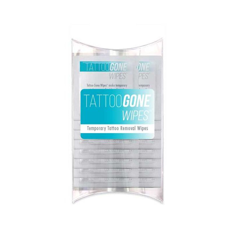 Tattoo Gone™ Temporary Tattoo Remover Wipes - 25 Pack image number null