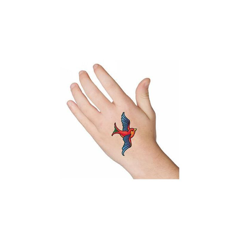 Swallow Temporary Tattoo image number null