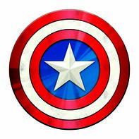 Avengers Captain America Symbol Temporary Tattoo