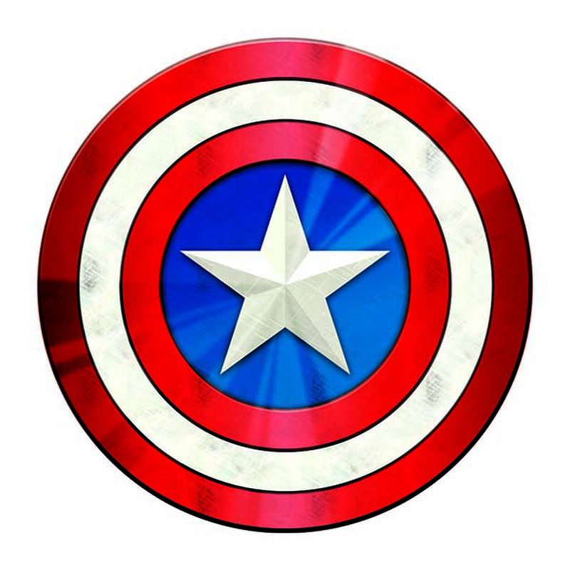 Avengers Captain America Symbol Temporary Tattoo image number null