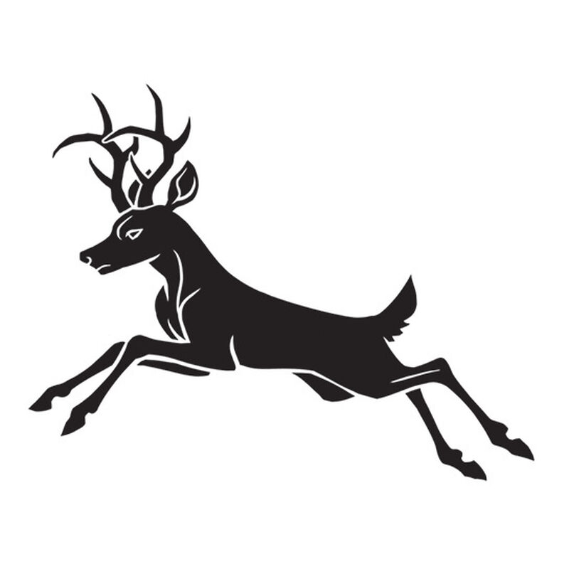 Leaping Deer Temporary Tattoo image number null