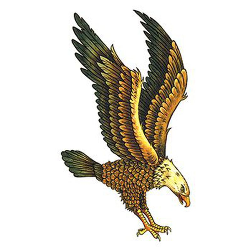 Majestic Eagle Temporary Tattoo image number null