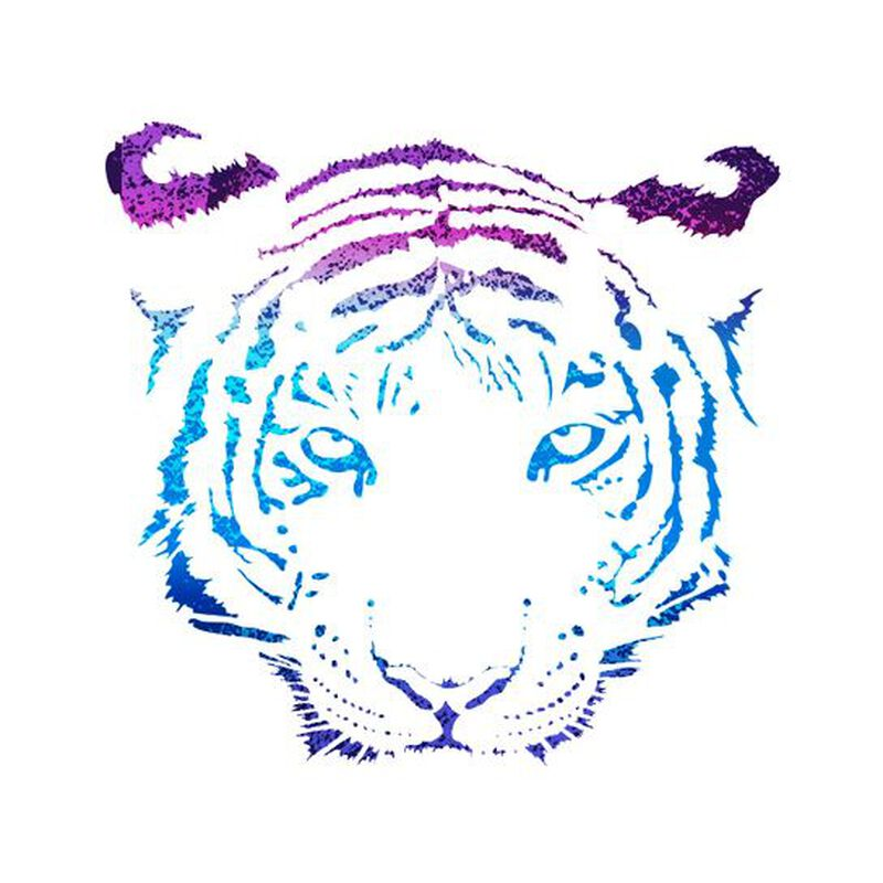 Metallic Tiger Temporary Tattoo image number null