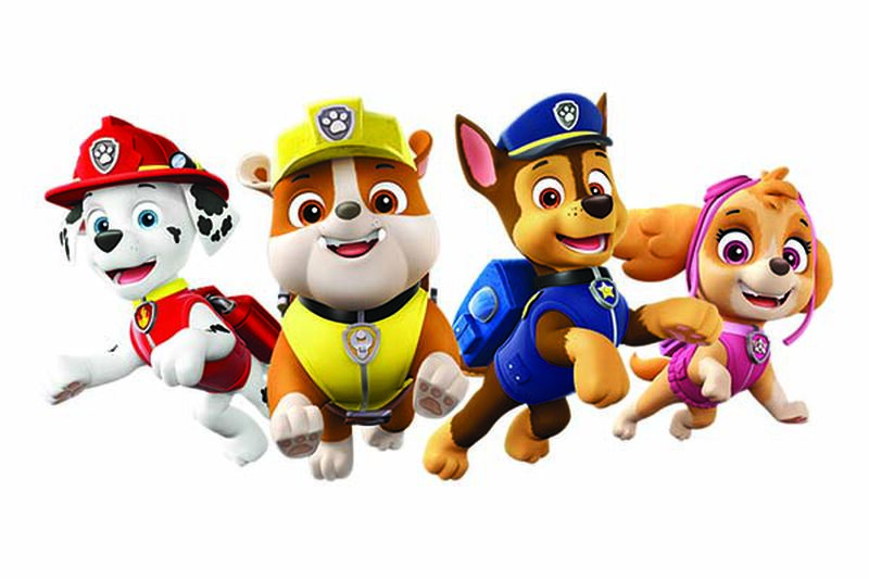 PAW Patrol On the Roll Temporary Tattoo image number null