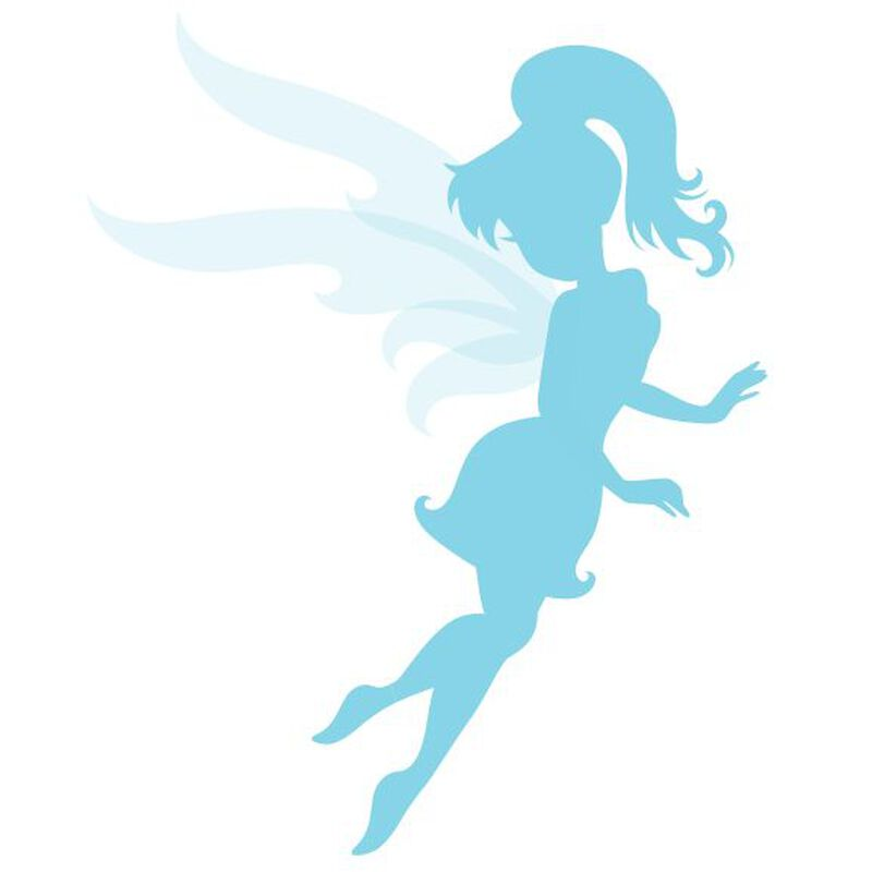 Blue Fairy Temporary Tattoo image number null
