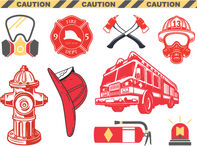 Firefighter Safety Set of Temporary Tattoos