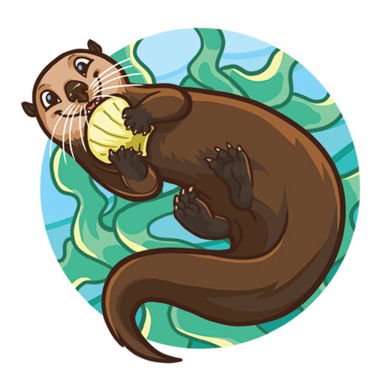 Otter Temporary Tattoo image number null