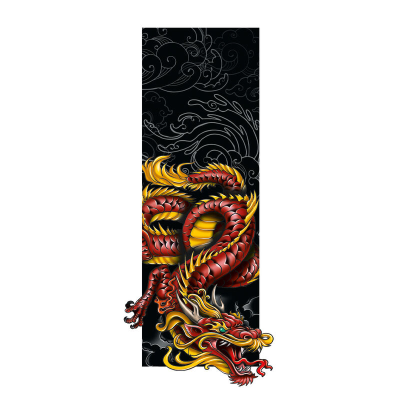 Dragon Frame Temporary Tattoo image number null