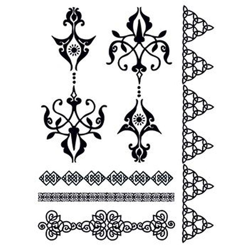 Henna: Aspirational Temporary Tattoo Set image number null