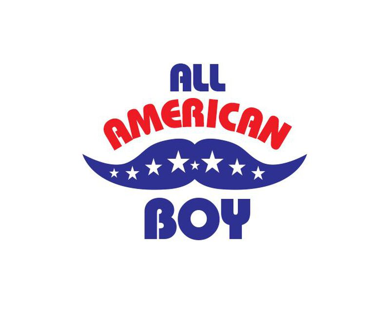 All American Boy Temporary Tattoo image number null