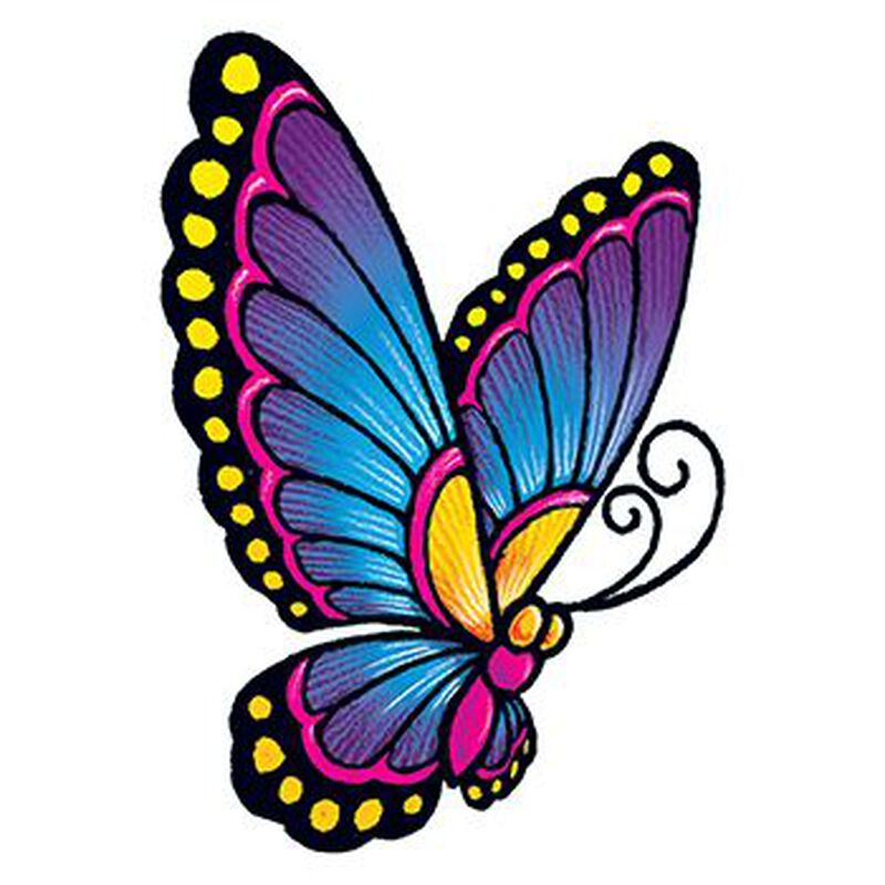 Vintage Butterfly Temporary Tattoo image number null