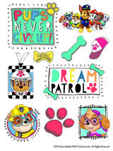 Dream PAW Patrol Temporary Tattoo Sheet