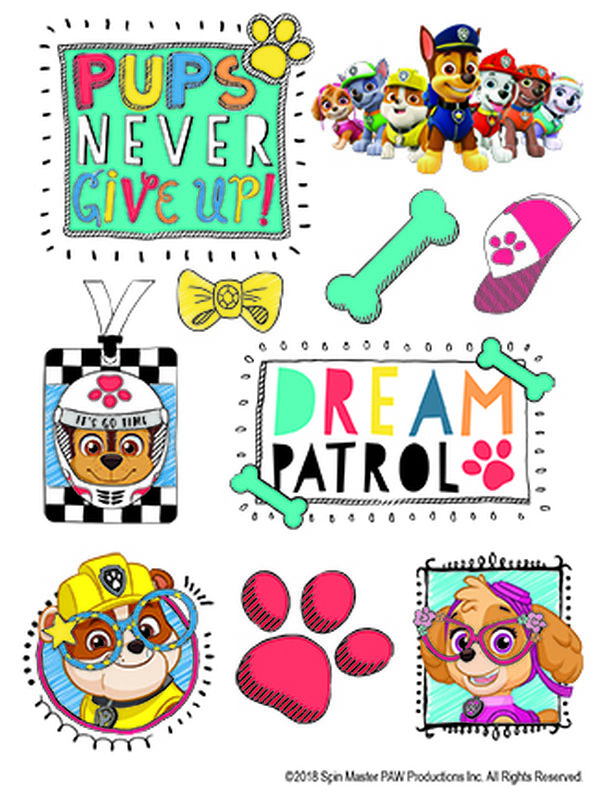 Dream PAW Patrol Temporary Tattoo Sheet image number null