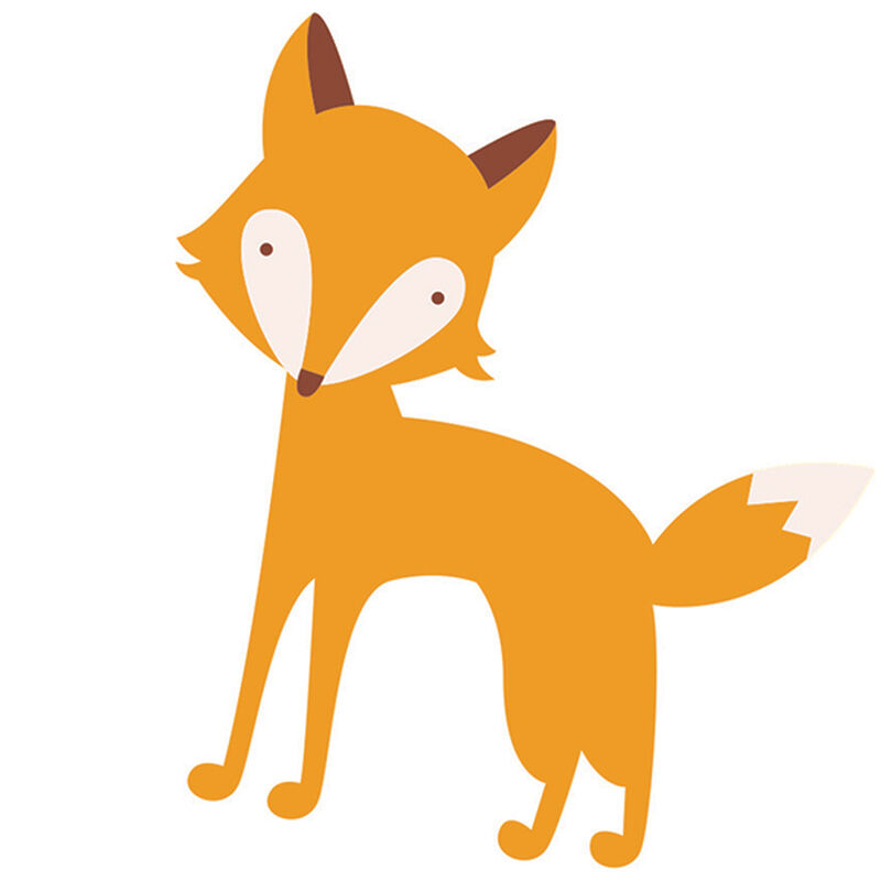 Red Fox Temporary Tattoo image number null