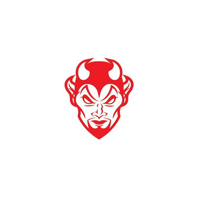 Red Devil Temporary Tattoo image number null
