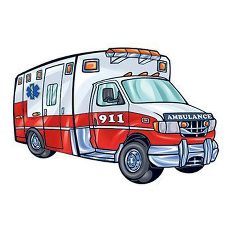 Ambulance Temporary Tattoo image number null