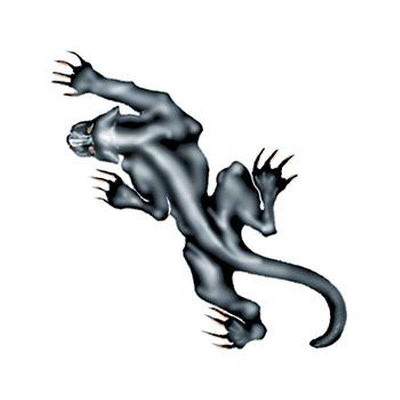 Prowling Panther Temporary Tattoo image number null