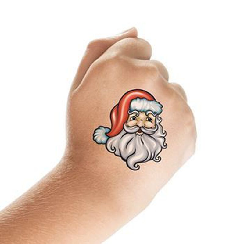 St. Nick Temporary Tattoo image number null