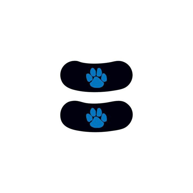 Blue Paw Eyeblack Temporary Tattoo image number null