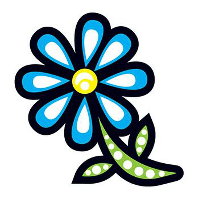Modern Daisy Temporary Tattoo image number null