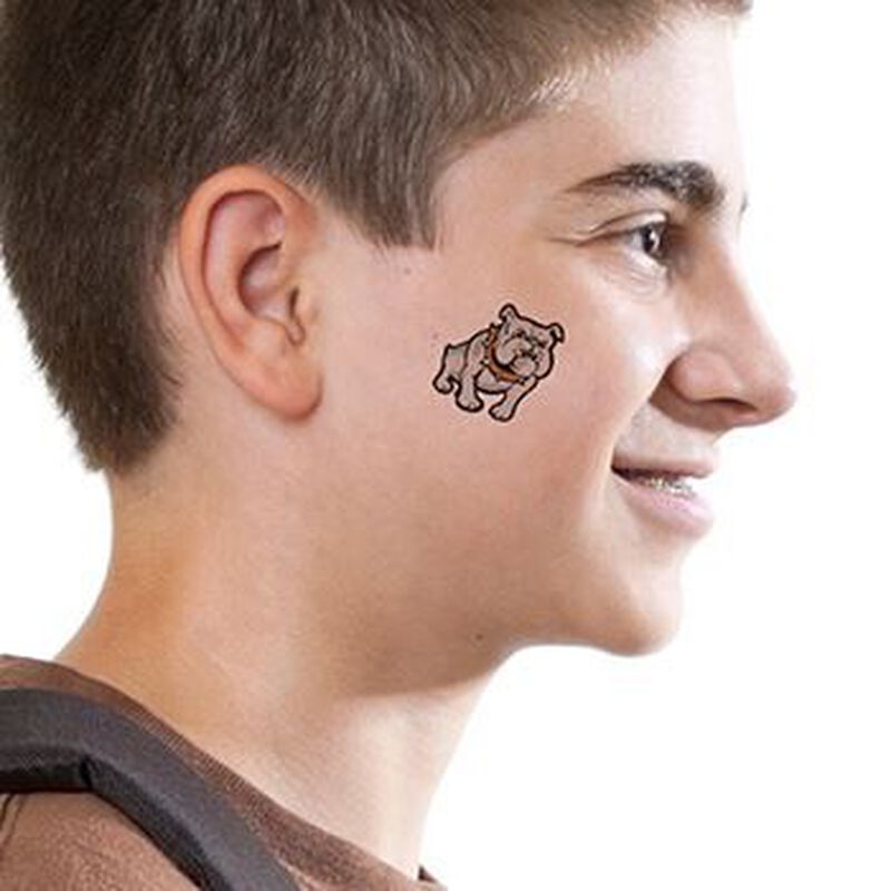 Small Bulldog Temporary Tattoo image number null